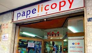 JM Ferri en Librería Papelicopy de Villena, Alicante