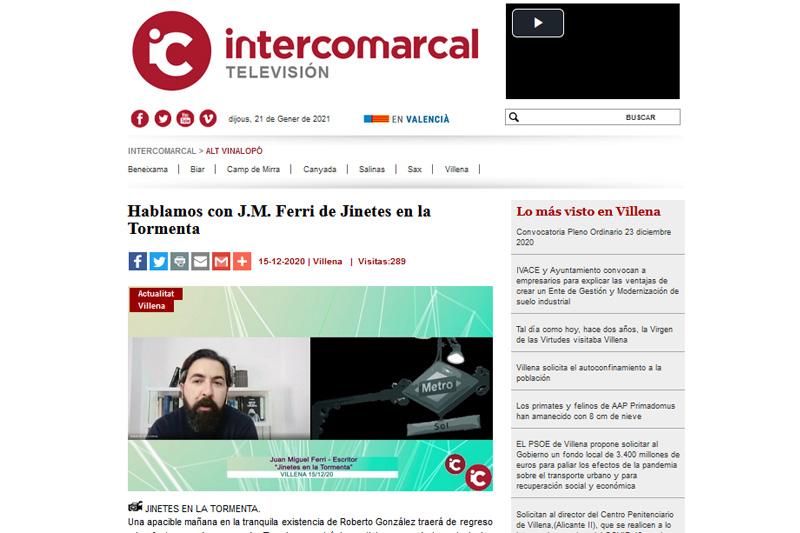 Entrevista en Televisión Intercomarcal