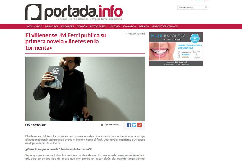 Entrevista en Portada.Info