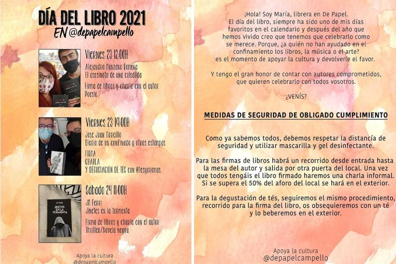 Firma de libros en Campello: Librería De Papel