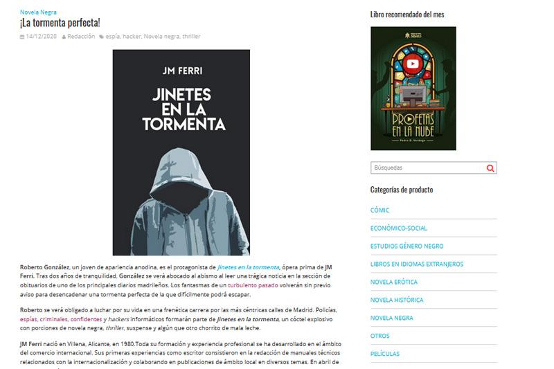 «¡La Tormenta Perfecta!» – blog MUCHO MÁS QUE UN LIBRO
