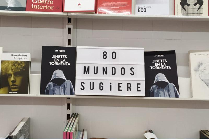 Jinetes en la Tormenta: el cambio - Librería 80 Mundos de Alicante