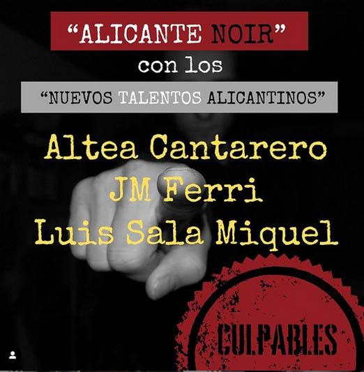 """ALICANTE NOIR: JM Ferri, entre los """"nuevos talentos alicantinos"""""""